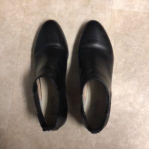 Michael Kors black leather shoes